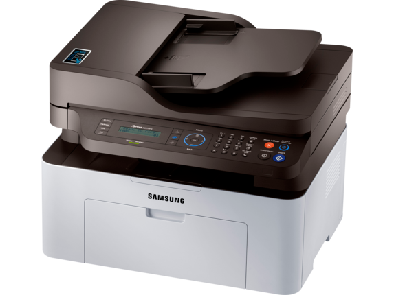 Samsung Xpress SL-M2070FW Laser Multifunction Printer - Left