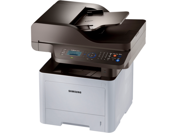 Samsung ProXpress SL-M3870FW Laser Multifunction Printer - Left