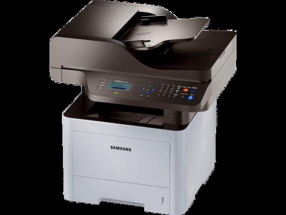 Samsung ProXpress SL-M4070FR Laser Multifunction Printer - Left