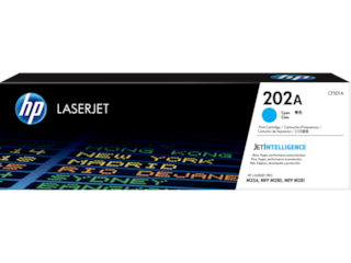HP 202A Cyan Original LaserJet Toner Cartridge, CF501A