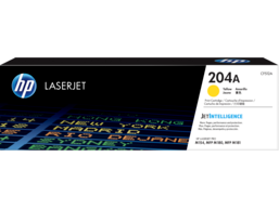 HP 204A Yellow Original LaserJet Toner Cartridge