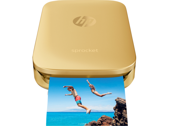 HP Sprocket Photo Printer - Center