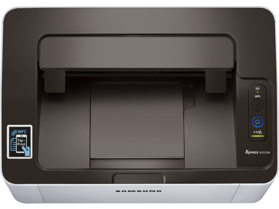 Samsung Xpress SL-M2020W Laser Printer - Top view closed