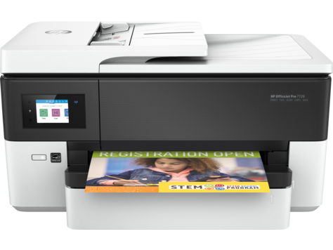 เครื่องพิมพ์ HP OfficeJet Pro 7720 Wide Format All-in-One series