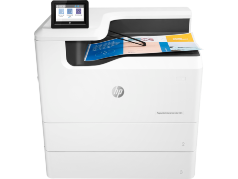 Serie 765 de impresoras HP PageWide Enterprise Color