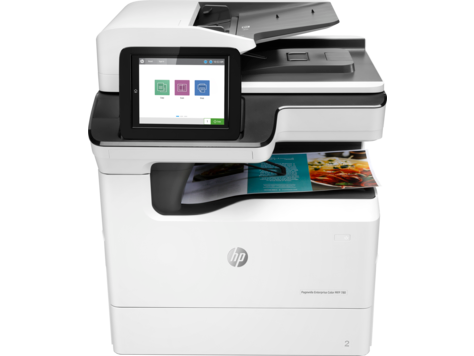 HP PageWide Enterprise Color MFP 780 Printer series