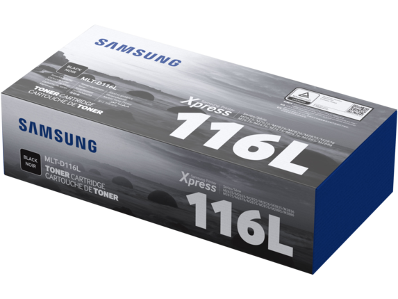 Samsung MLT-D116L High Yield Black Toner Cartridge