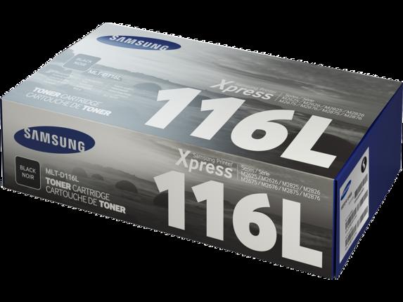 Samsung MLT-D116L High Yield Black Toner Cartridge - Left