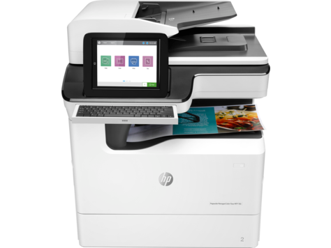 HP PageWide Enterprise 彩色 MFP 785 印表機系列