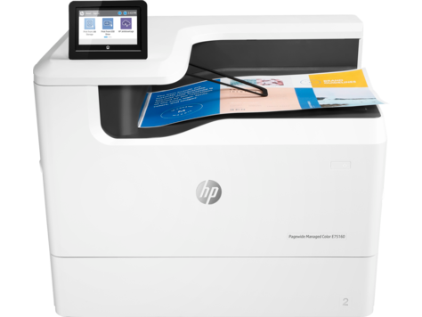 Gamme d'imprimantes HP PageWide Managed Color E75160