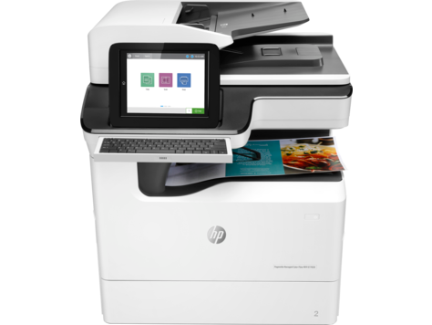 Impressora multifuncional HP PageWide Managed Color série E77650-E77660