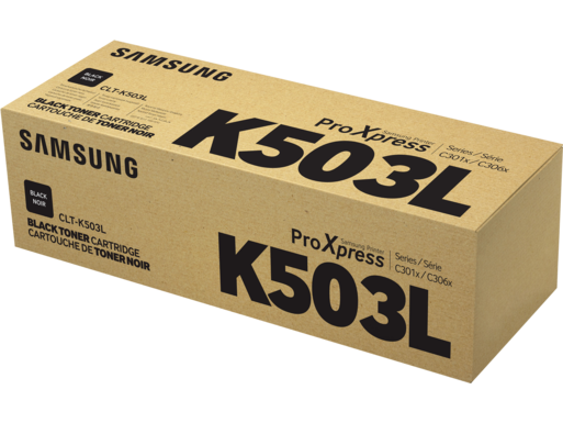 Samsung CLT-K503L High Yield Black Toner Cartridge