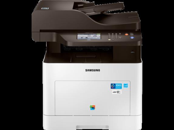 Samsung ProXpress SL-C3060FW Color Laser Multifunction Printer - Center