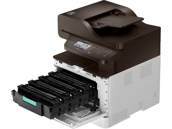 Samsung ProXpress SL-C3060FW Color Laser Multifunction Printer - Detail view