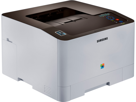 Samsung Xpress SL-C1810W Color Laser Printer - Right