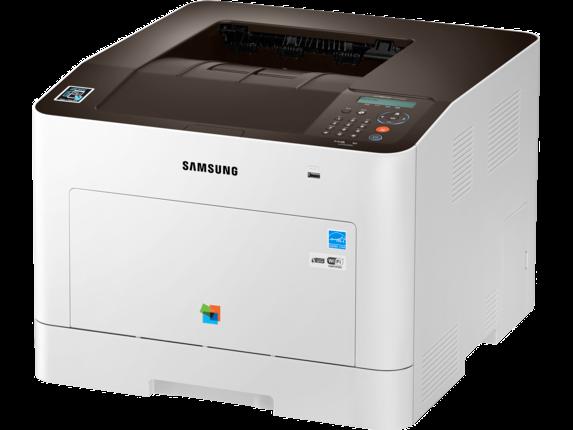 Samsung ProXpress SL-C3010DW Color Laser Printer - Left