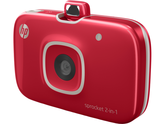 HP Sprocket 2-in-1 - Left