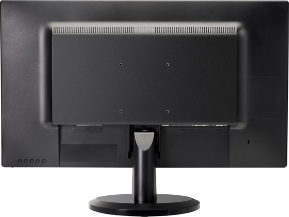 HP V270 27-inch Monitor - Rear
