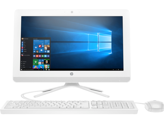 HP All-in-One - 20-c410 - Center
