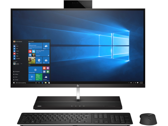 HP EliteOne 1000 G1 27-in 4K UHD All-in-One Business PC - Center