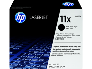 HP 11 Toner Cartridges