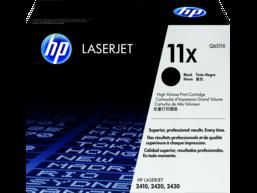HP 11X High Yield Black Original LaserJet Toner Cartridge, Q6511X
