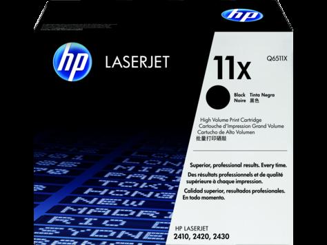 Cartucho original de tóner negro de alto rendimiento HP 11X LaserJet
