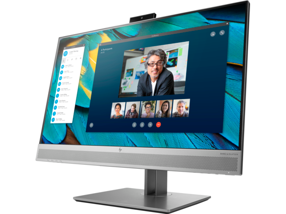 HP EliteDisplay E243m 23.8-inch Monitor - Left