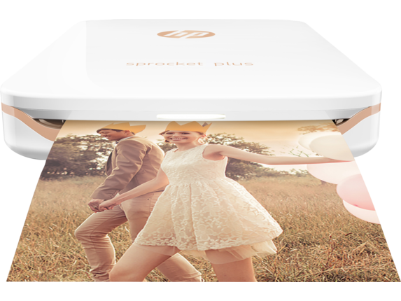 HP Sprocket Plus Printer - Center |White