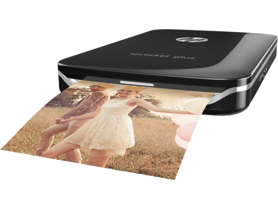 HP Sprocket Plus Printer - Right |Black