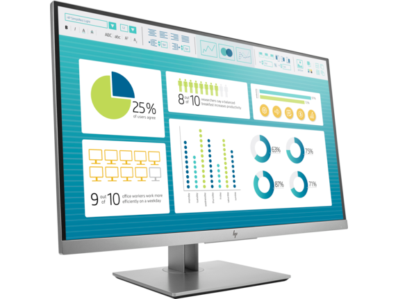 HP EliteDisplay E273 27-inch Monitor - Right