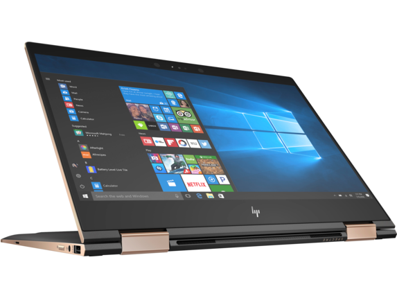 HP Spectre x360 - 13-ae055nr - Right screen center