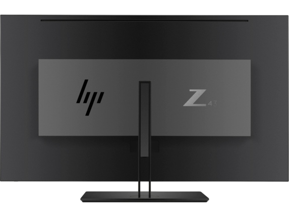 HP Z43 42.5-inch 4K UHD Display - Rear