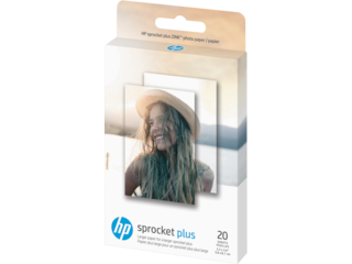 HP Sprocket Plus Photo Paper-20 sticky-backed sheets/2.3 x 3.4 in