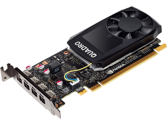 NVIDIA Quadro® P1000 4GB Graphics Card