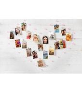 HP Sprocket Crystal Heart Display