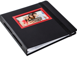 HP Sprocket Red & Black Album