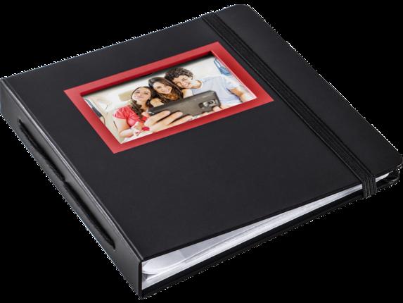 HP Sprocket Red & Black Album