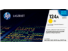 HP 124A Yellow Original LaserJet Toner Cartridge