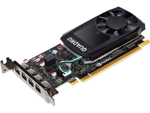 NVIDIA Quadro P600 (2GB) Graphics Card - Center
