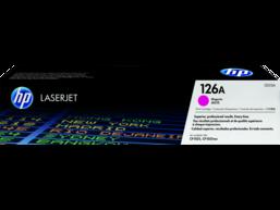 HP 126A Magenta Original LaserJet Toner Cartridge, CE313A