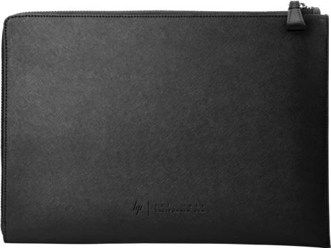 HP Elite 13.3 Black Leather Sleeve