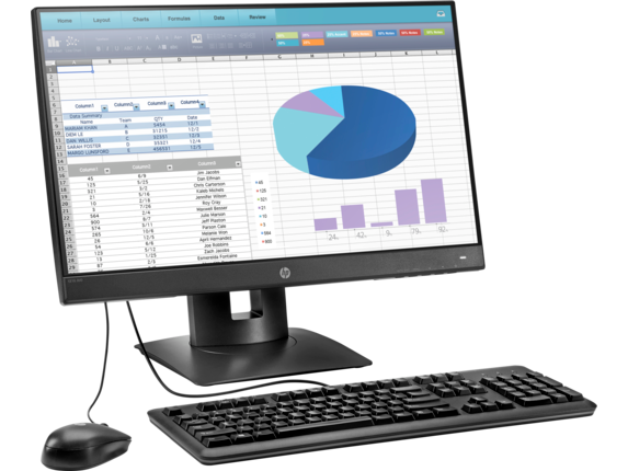 HP t310 G2 All-in-One Zero Client - Right