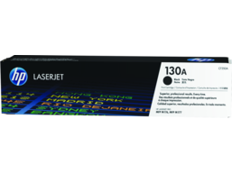 HP 130A Black Original LaserJet Toner Cartridge, CF350A