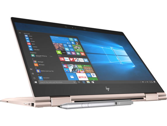 HP Spectre x360 - 13t Touch Laptop - Right screen center