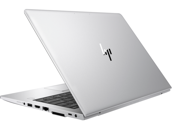 HP EliteBook 830 G5 Notebook PC with HP Sure View - Left rear