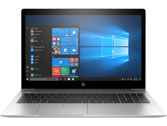 HP EliteBook 850 G5 Notebook PC - Center