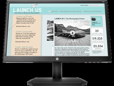 Monitor HP V190 de 18,5 pulg.