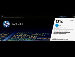 HP 131A Cyan Original LaserJet Toner Cartridge, CF211A