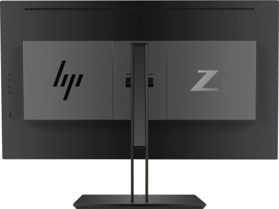 HP Z32 31.5-inch 4K UHD Display - Rear